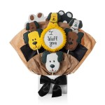 Pups N Paws Cookie Bouquet