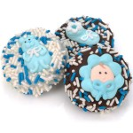 Baby Boy Dipped & Decorated Oreos®- Individually Wrapped