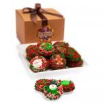 Belgian Chocolate Christmas Oreos®- Gourmet Gift Box