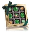 Belgian Chocolate St. Patrick's Day Oreos®- Gold Box of 9