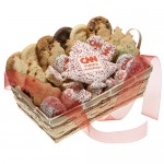 Custom 36 Piece Logo Christmas Tree Basket