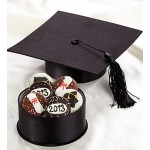 Graduation Cap Cookie Gift Box of 6
