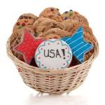 Patriotic Cookie Gift Basket
