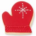 Red Mitten Cookie Favor
