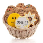 Smile! Cookie Gift Basket