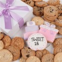 Sweet Sixteen Signature Cookie Gift Box