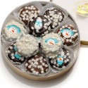 Winter Wheel of Chocolate Dipped & Decorated Oreos®