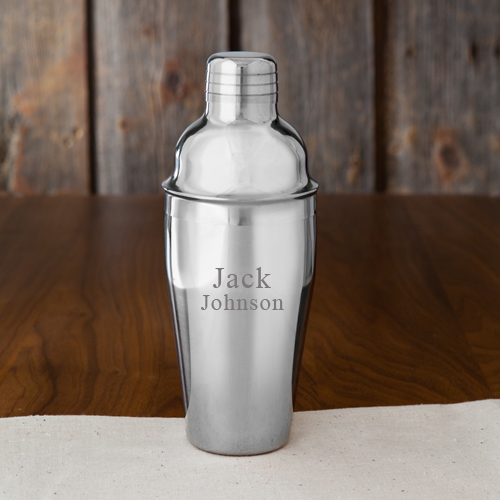 Personalized Cocktail Shaker - 2 lines/10 characters Cocktail Shaker