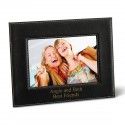 Leatherette 5x7 Picture Frame - Black Picture Frame