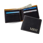 Black Leatherette Wallet