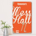 Family Mess Hall Personalized Canvas Print
