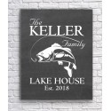 Canvas for a Family Lake Home - Black