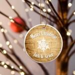 Christmas Ceramic Ornament - Pine