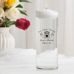 Claddagh Floating Unity Candle (E5)