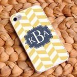 "Chevron iPhone Cases - ""Coastal Classic"" Chevron iPhone Case"