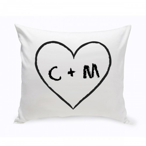 Couples Unity Hearts Throw Pillow - Heart of Love