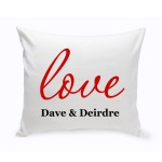 Couples Unity Throw Pillow - Amore