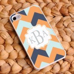 "Chevron iPhone Cases - ""Fabulous Fashionista"" Chevron iPhone Case"