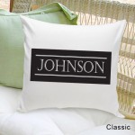 Family First Throw Pillow - Classic