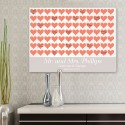 For the Love of Hearts Canvas