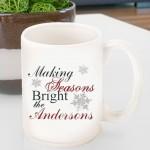 Holiday Coffee Mug - Seasons