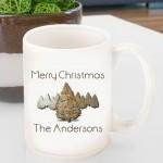 Holiday Coffee Mug - Spruce