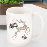 Holiday Coffee Mug - Reindeer