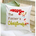 Holiday Throw Pillow -  Elves