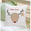 Holiday Throw Pillow -  Reindeer