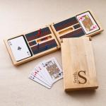 Monogrammed Cribbage Game - Modern