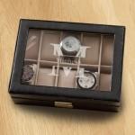 Monogrammed Watch Box - Stamped