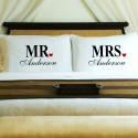 Pillow Case Sets - NEW Couples Mr. & Mrs Pillow Case Set
