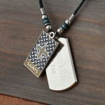 NFL Dogtag Necklace - Available in All 32 Teams
