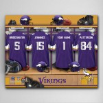 NFL Locker Room Canvas Prints - Available in All 32 Teams