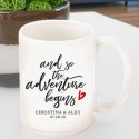 Personalized Adventure Coffee Mug