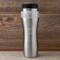 Personalized Bling Travel Tumbler - 2 Lines