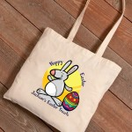 Personalized Easter Canvas Bags - Easter Treats