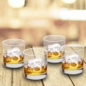 Personalized Lowball Glasses - Set of 4 - Modern
