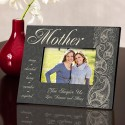 Personalized Mother Pretty Paisley Picture Frame