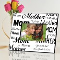 Mom-Mother Frame - Black and White