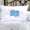 Personalized Felicity Cheerful Monogram Pillow Case - CM8
