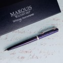 Personalized Waterford® Arcadia Ballpoint Pen - Blue