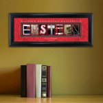 Collegiate Framed Architecture Print in Wood Frame - Eastern Washington University