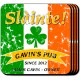 Personalized Irish Themed Coaster Sets - Pride of the Irish Coaster Set