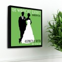 Personalized Couples Studio Canvas - Fresh Green