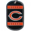 Personalized True Colors NFL Dog Tag  - Chicago Bears