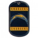 Personalized True Colors NFL Dog Tag  - San Diego Chargers