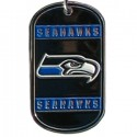 Personalized True Colors NFL Dog Tag  - Seattle Seahawks