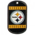 Personalized True Colors NFL Dog Tag  - Pittsburgh Steelers