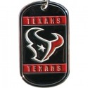 Personalized True Colors NFL Dog Tag  - Houston Texans